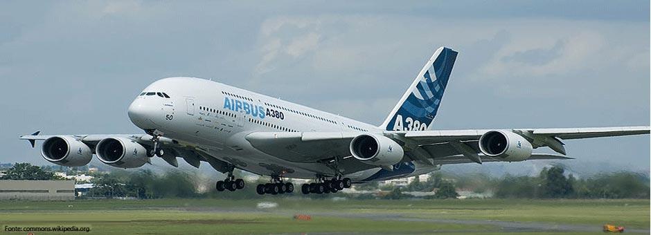 Airbus A380: a máxima expressão do luxo