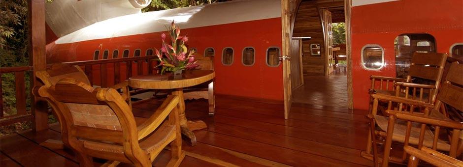 Aviões transformados em hotéis fazem voar a imaginação
