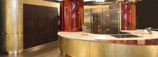 Uma cozinha que reluz… é ouro!