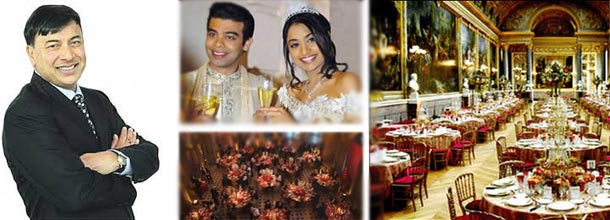 O casamento indiano de luxo da família Mittal