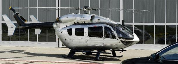 EC145: o helicóptero de luxo da Mercedes-Benz