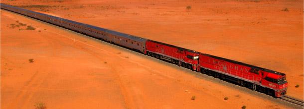 Os trens mais exclusivos do mundo: The Ghan