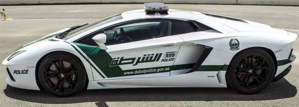 As viaturas de polícia mais rápidas e caras do mundo